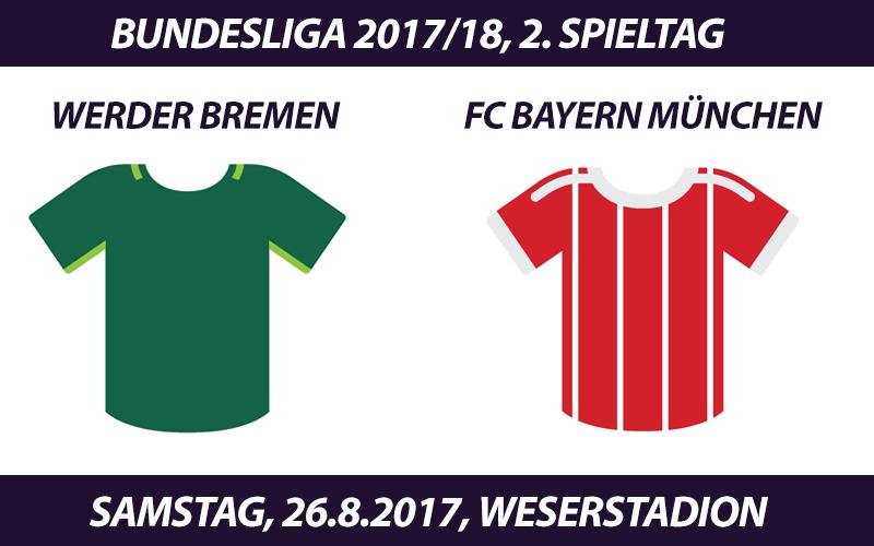 Bundesliga Tickets Werder Bremen Fc Bayern 2682017 ᐅ Fc