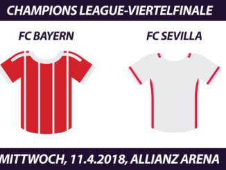 Champions League Tickets: FC Bayern - FC Sevilla, 11.4.2018
