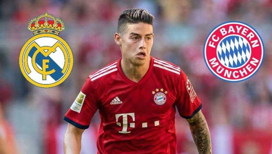 James Rodriguez Wechselt Bayern