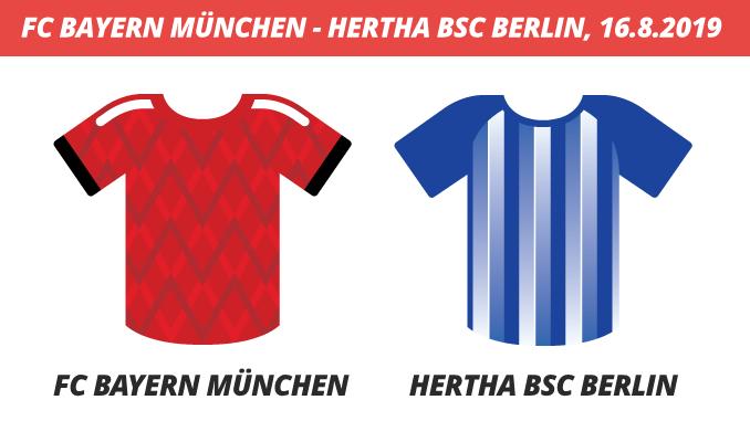 Bundesliga Tickets: FC Bayern München - Hertha BSC Berlin, 16.8.2019