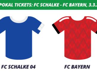 DFB-Pokal Tickets: FC Schalke 04 - FC Bayern, 3.3.2020 (Viertelfinale)